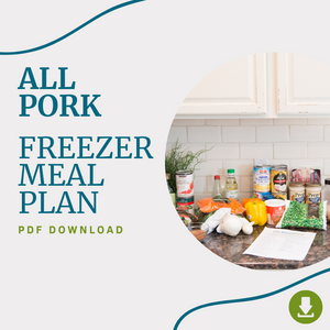 January 2021 - The All Pork Freezer Meal Plan PDF