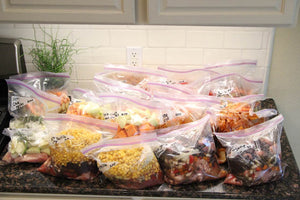 20 Meals for $150 - Slow Cooker Freezer Packs #1