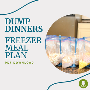 January 2021 - Dump Dinners Freezer Meal Plan PDF