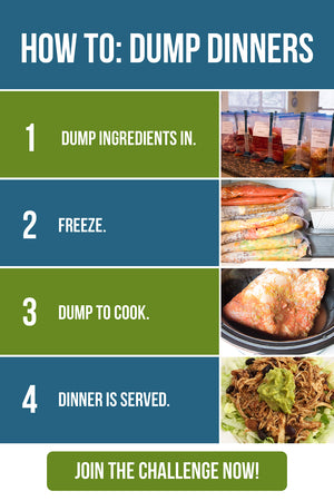 dump dinners freezer friendly cookbook