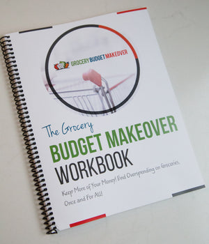 Grocery Budget Makeover Workbook