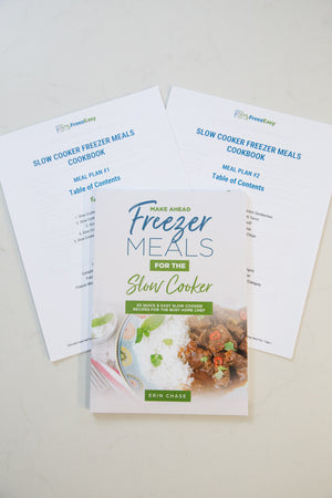 make ahead meals for the slow cooker cookbook prep kit