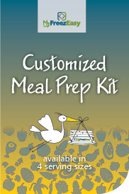 Customized Meal Prep Kit ~ Freezer Meals Shower for New Mom