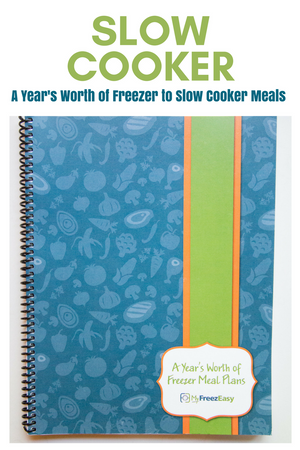 a year of slow cooker freezer meals book