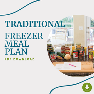 January 2021 - The Traditional Freezer Meal Plan PDF