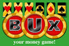 BUX, your money game logo