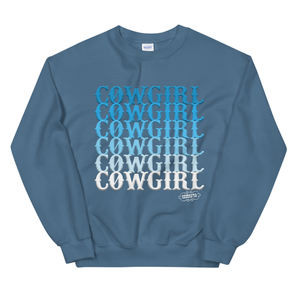 Cowgirl Blues {Pullover}