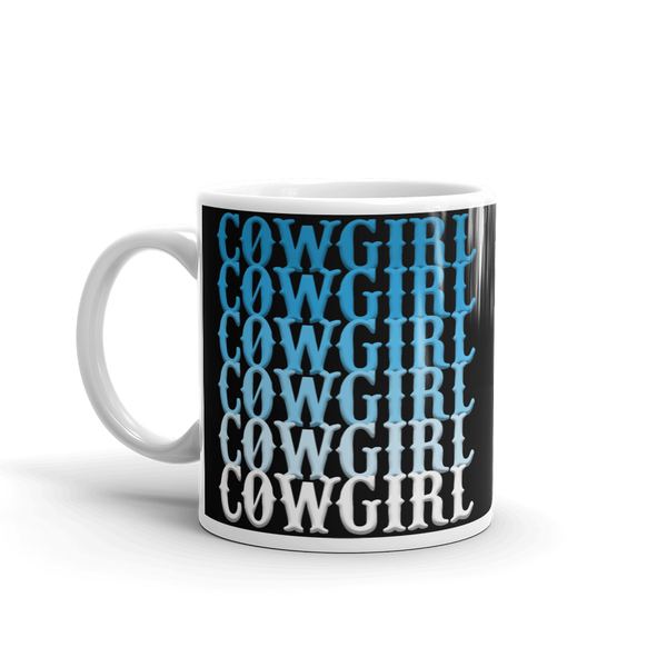 The Cowgirl Blues Mug (black)