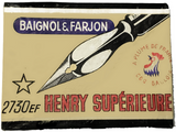 2730EF Henry Supérieure