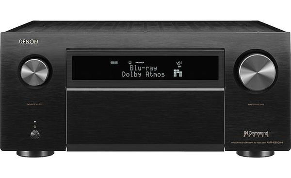 Denon AVR-X8500H 13.2-Channel Home Theater Receiver w/ Wi-Fi®, Dolby Atmos®, Apple® AirPlay® 2, and HEOS (Black)