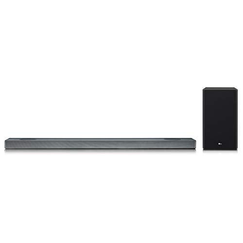 LG SL9YG 4.1.2 Channel High Res Audio Sound Bar w/Meridian Technology, Dolby Atmos and Google Assistant Built-in