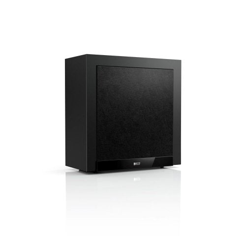 KEF T2 Powered 250W Home Theater Subwoofer - Black