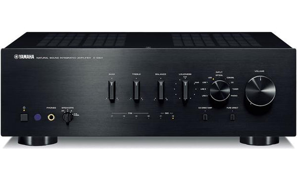 Yamaha A-S801BL Natural Sound Integrated Stereo Amplifier (Black) (A-S801)