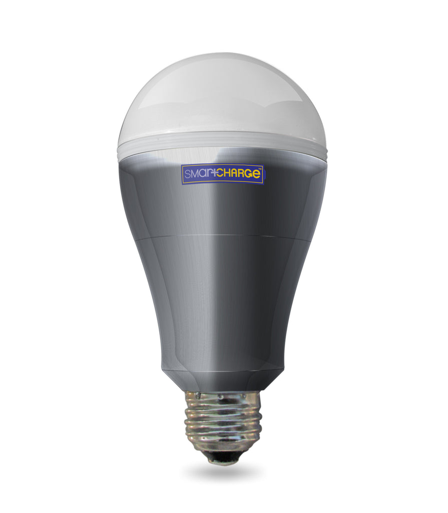SmartCharge Power Outage LED Bulb with Rechargeable Battery