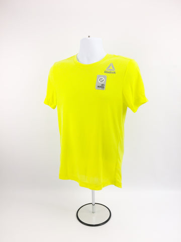 Reebok Supremium Tee- Bright Yellow