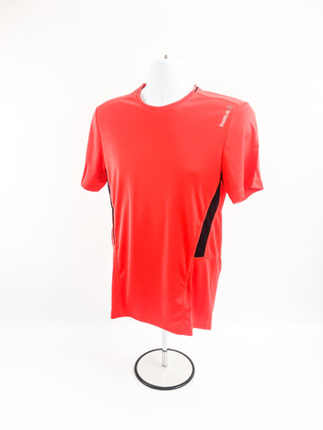 Reebok WOR Poly Tech Shirt- Red