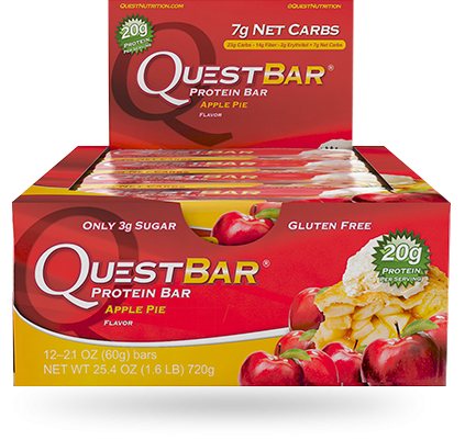 QUEST BARS- 12/BOX