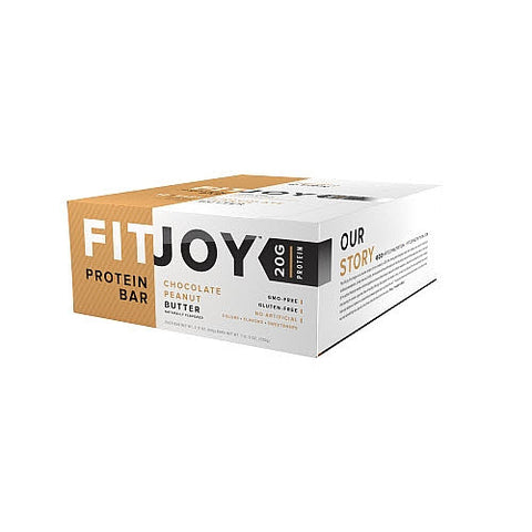 FITJOY PROTEIN BAR-12/BOX