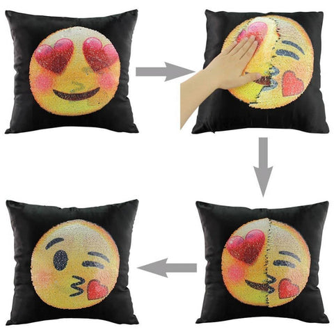 Heart-Eyes to Kiss Reversible Nequis Pillow Case
