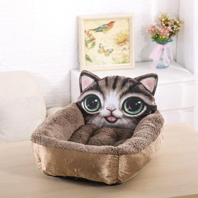 Soft and Comfortable 3D Pet Bed