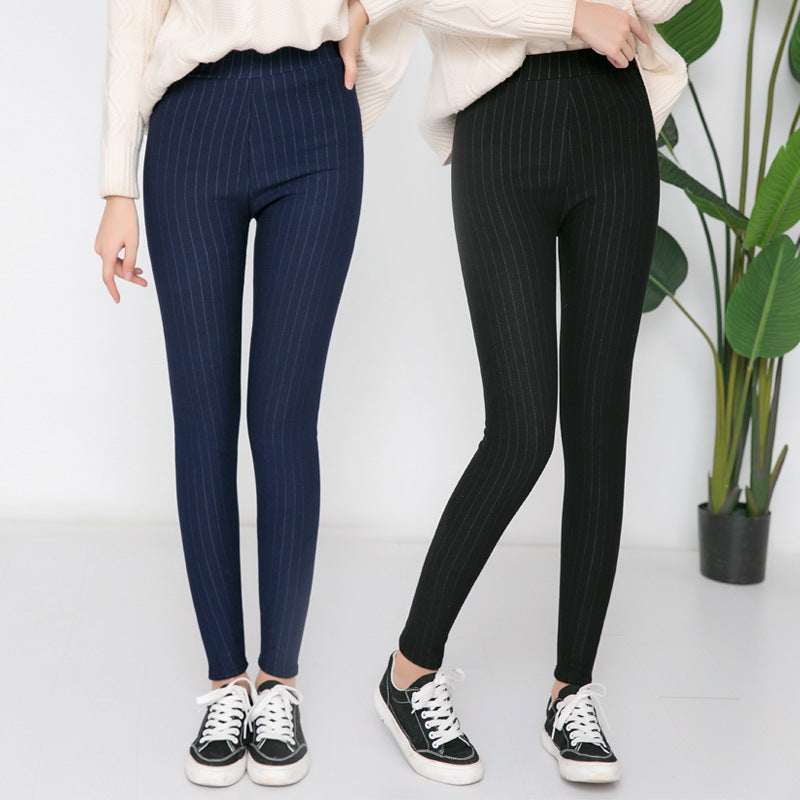 High Waist Winter Pants