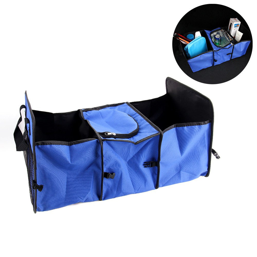 Car Trunk Organizer with Cooler Compartment