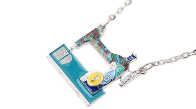 Colorful Sewing Machine Necklace