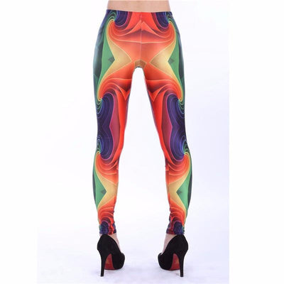 Vibrant Canvas Leggings