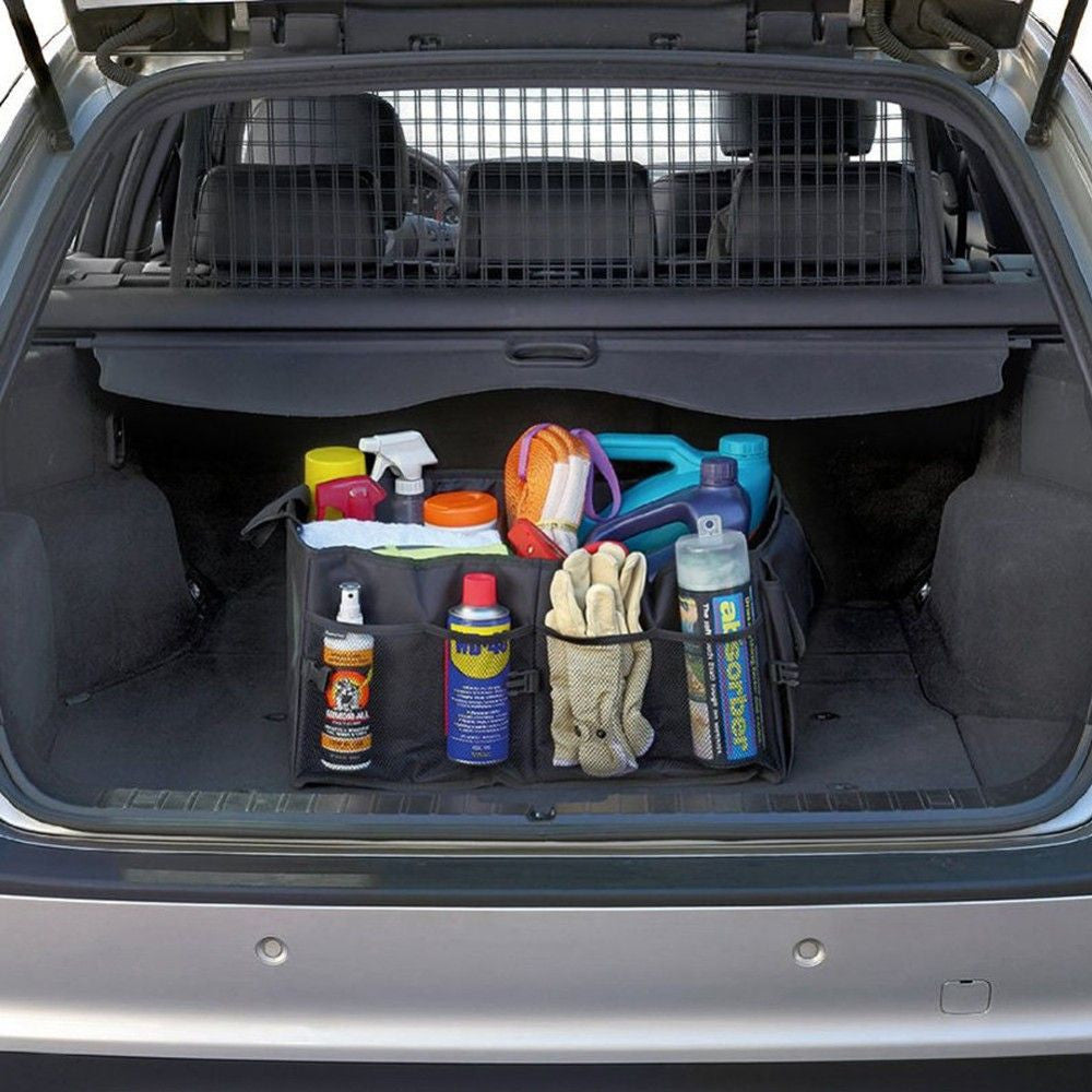 Large Car Trunk Organizer