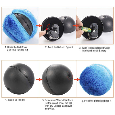 Magic Roller Ball Toy For Dogs
