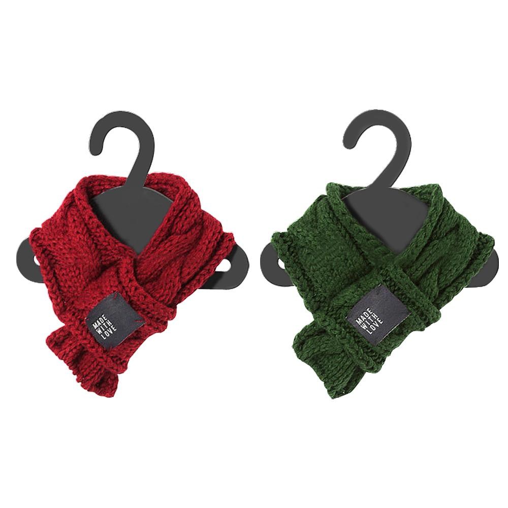 Knitted Pet Scarf «Made With Love» - Nequis Store