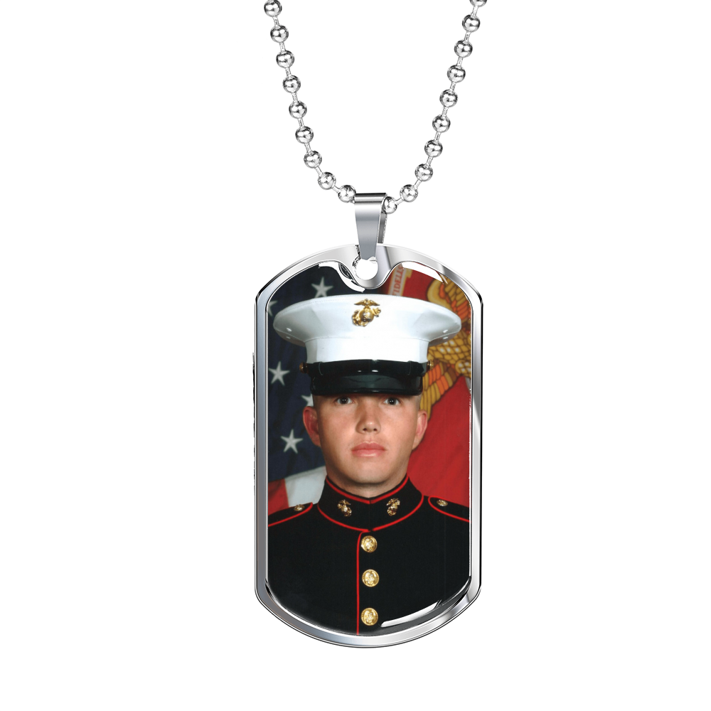 Personalized Luxury Stainless Steel Photo Dog Tag
