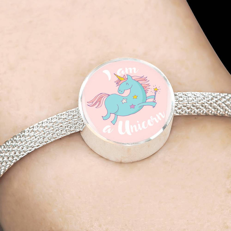 «I am a Unicorn» Unicorn Luxury Steel Bracelet