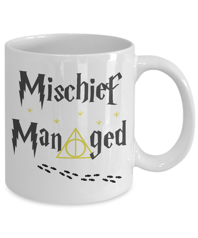 «Mischief Managed» Coffee Mug