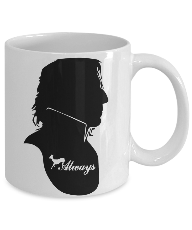 «Always (Snape's Profile)» Coffee Mug