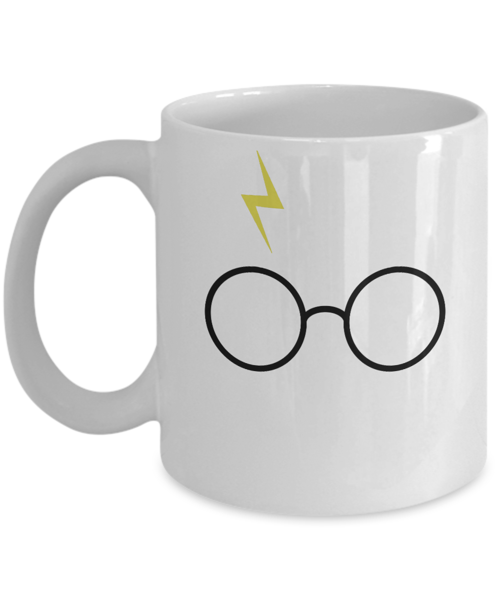 «Harry Potter's Glasses & Lightning Bolt Scar» Coffee Mug