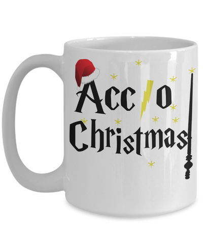 «Accio Christmas» Coffee Mug