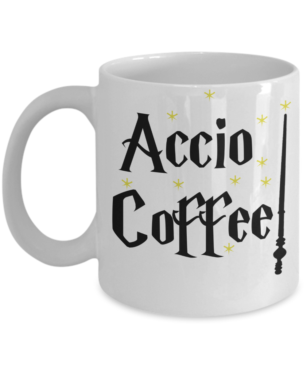 «Accio Coffee» Coffee Mug