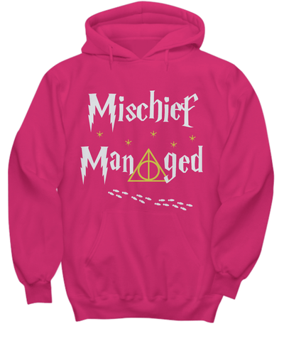 Mischief Managed – Harry Potter Inspired Hoodie