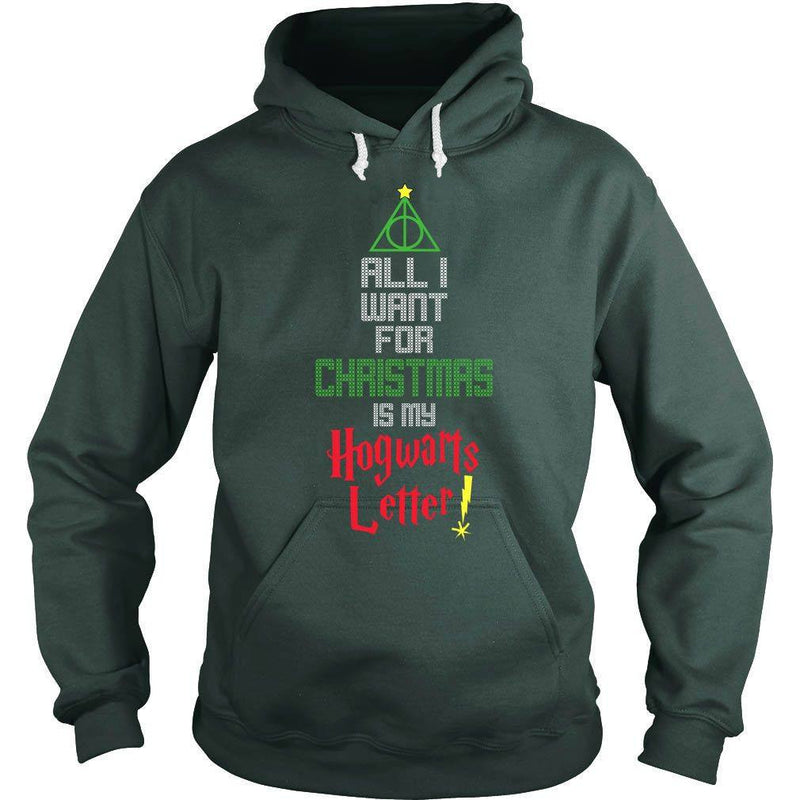 «All I Want For Christmas Is My Hogwarts Letter!» Hoodie