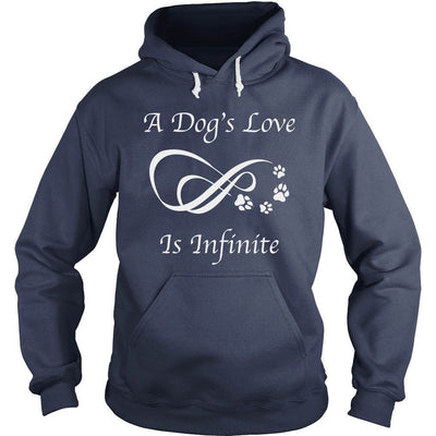 «A Dog's Love Is Infinite» Hoodie