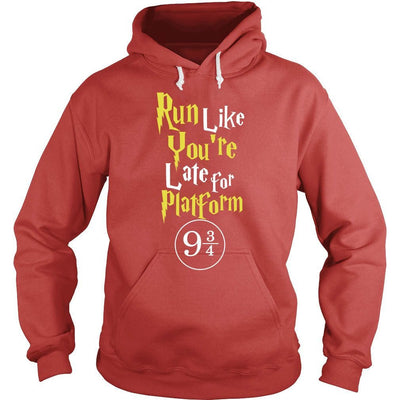 «Run Like You're Late For Platform 9 3/4» Hoodie