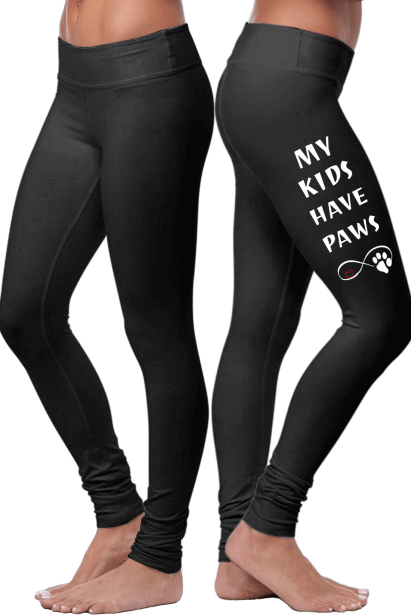 My Kids Have Paws Leggings