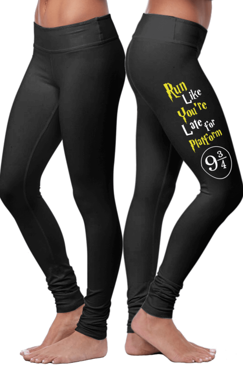 «Run Like You're Late For Platform 9 3/4» Leggings