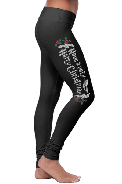 Have A Very Harry Christmas Leggings