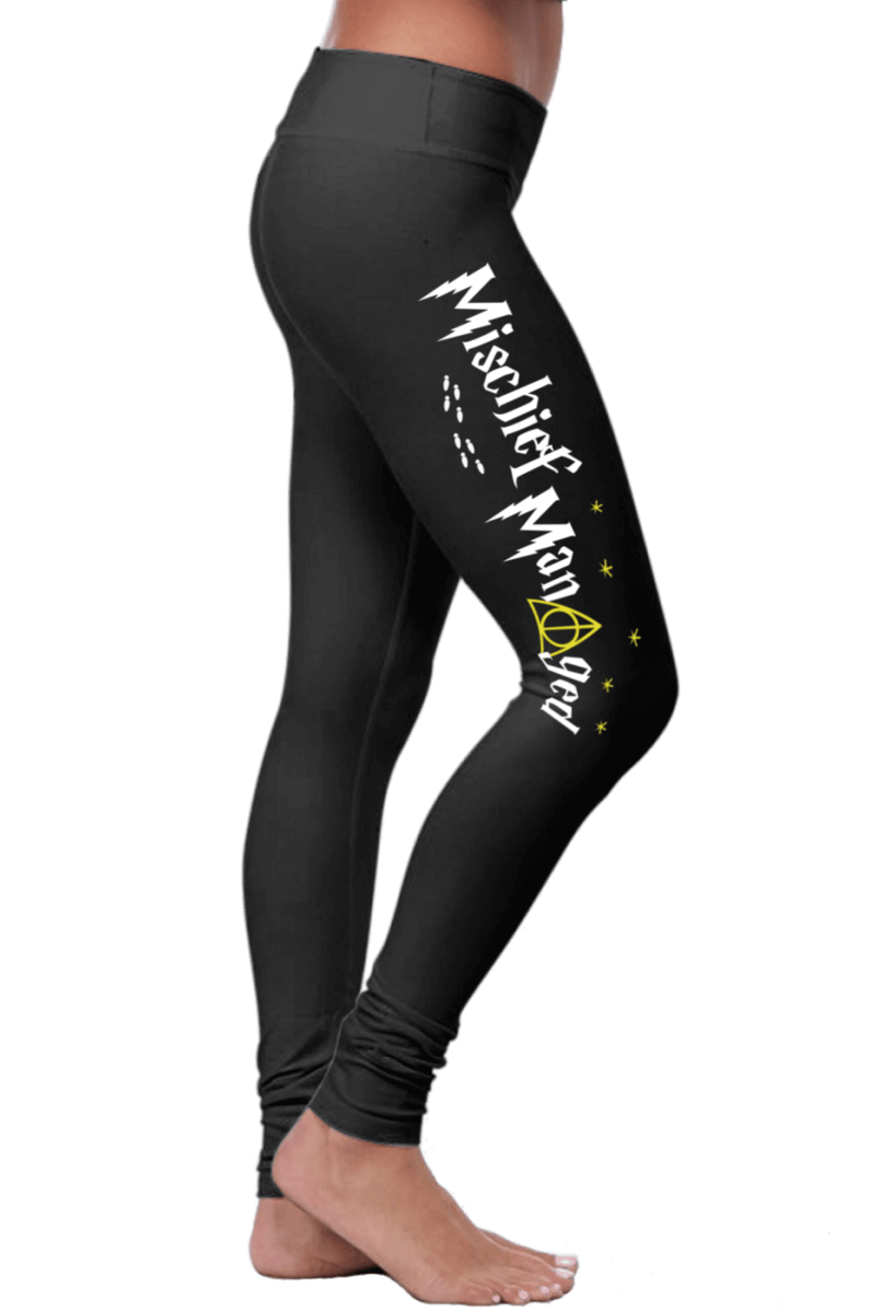 Mischief Managed – Harry Potter Inspired Leggings