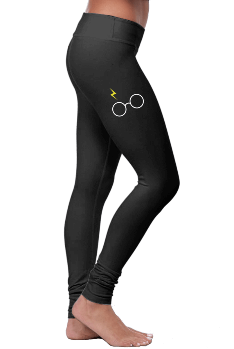 HP Glasses & Lightning Bolt Leggings