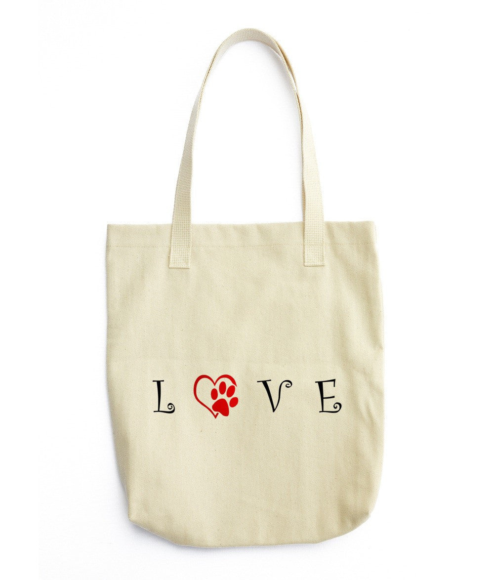 «LOVE» Tote bag (double side print)