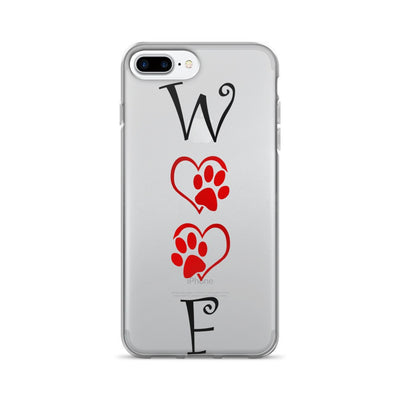 «WOOF» iPhone 7/7 Plus Case