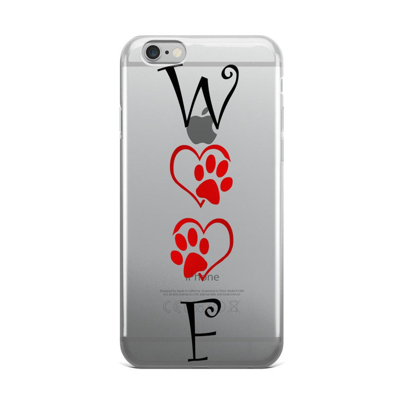 «WOOF» iPhone 5/5s/Se, 6/6s, 6/6s Plus Case